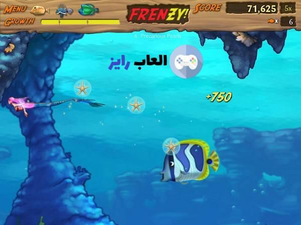 تنزيل لعبة السمكة القديمة Feeding Frenzy للكمبيوتر من ميديا فاير العاب رايز Menu