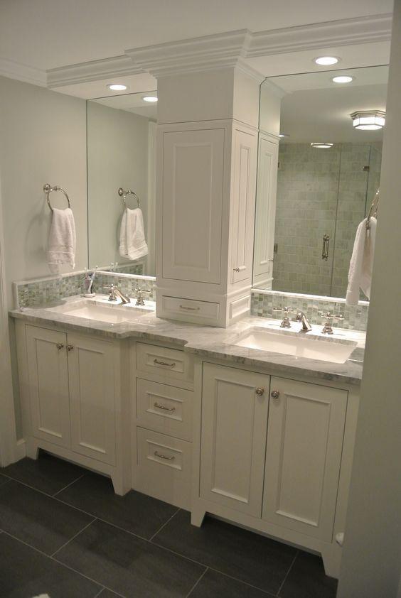 25 Amazing Double Bathroom Vanities You Need To Try Interior God Bathroom Design Bathroom Renovations Bathrooms Remodel