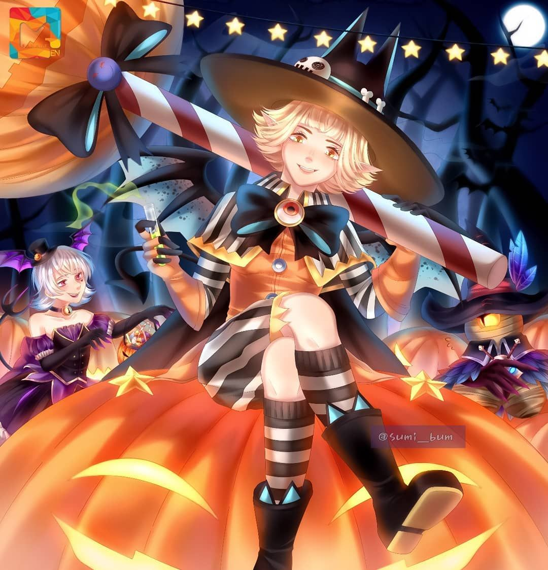Halloween is getting close and sadly we don't celebrate it