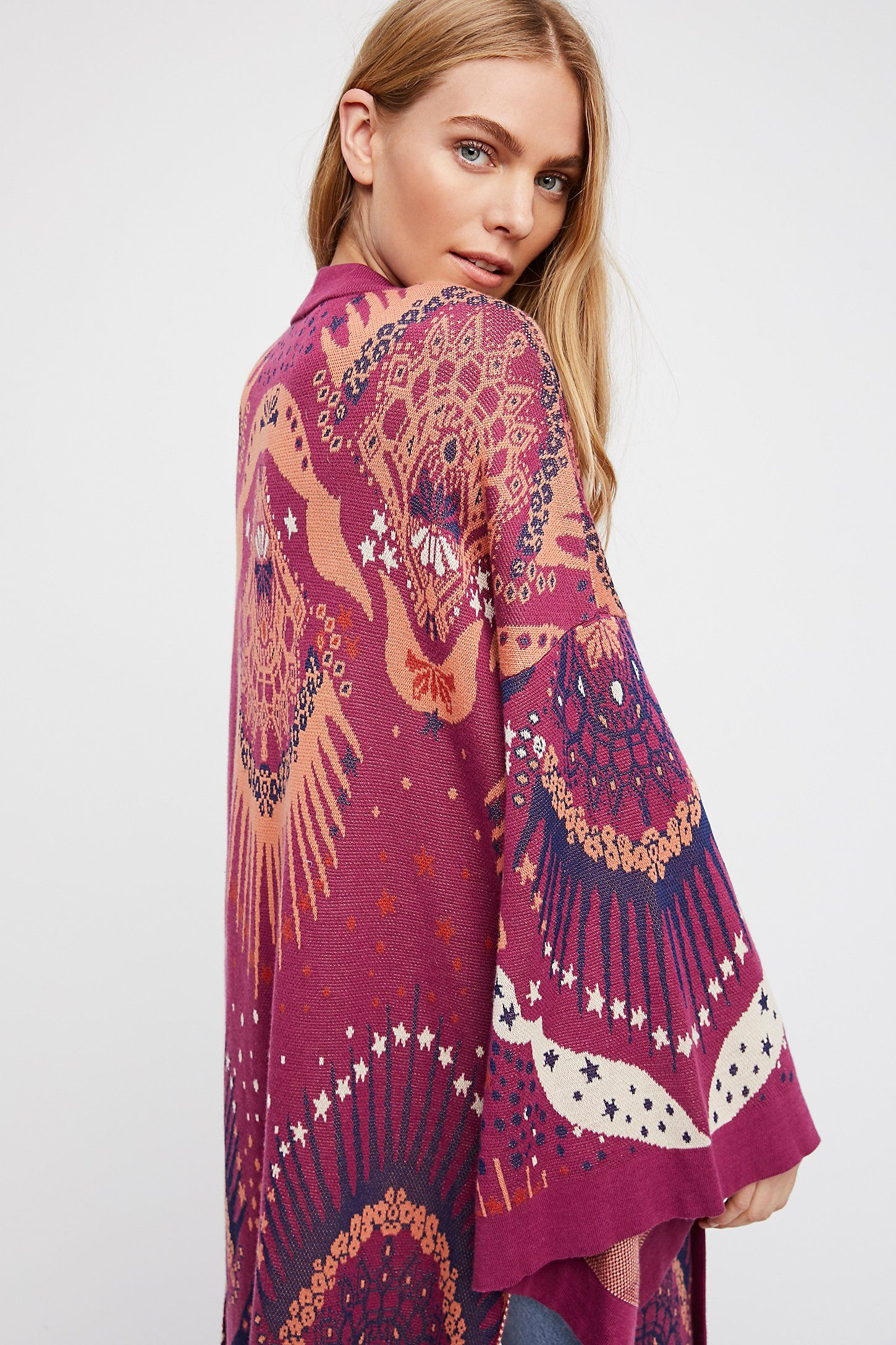 90f0801954 Shop our Psychedelic Kimono at FreePeople.com. Share style pics with FP Me,  and read & post reviews. Free shipping worldwide - see site for details.