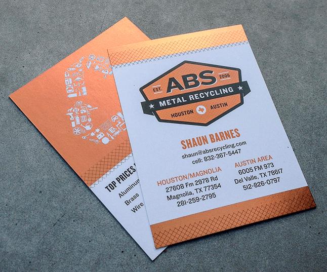 Test monki abs metal recycling metallic business cards business test monki abs metal recycling metallic business cards business card design reheart Choice Image
