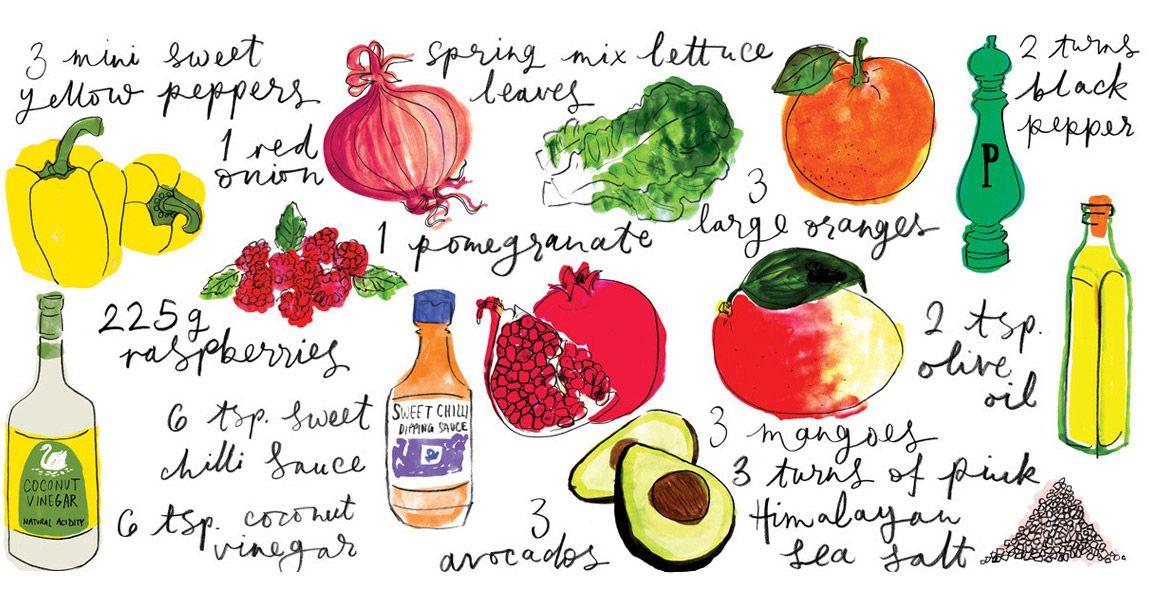 How to Make: Fabulously Fresh Salad