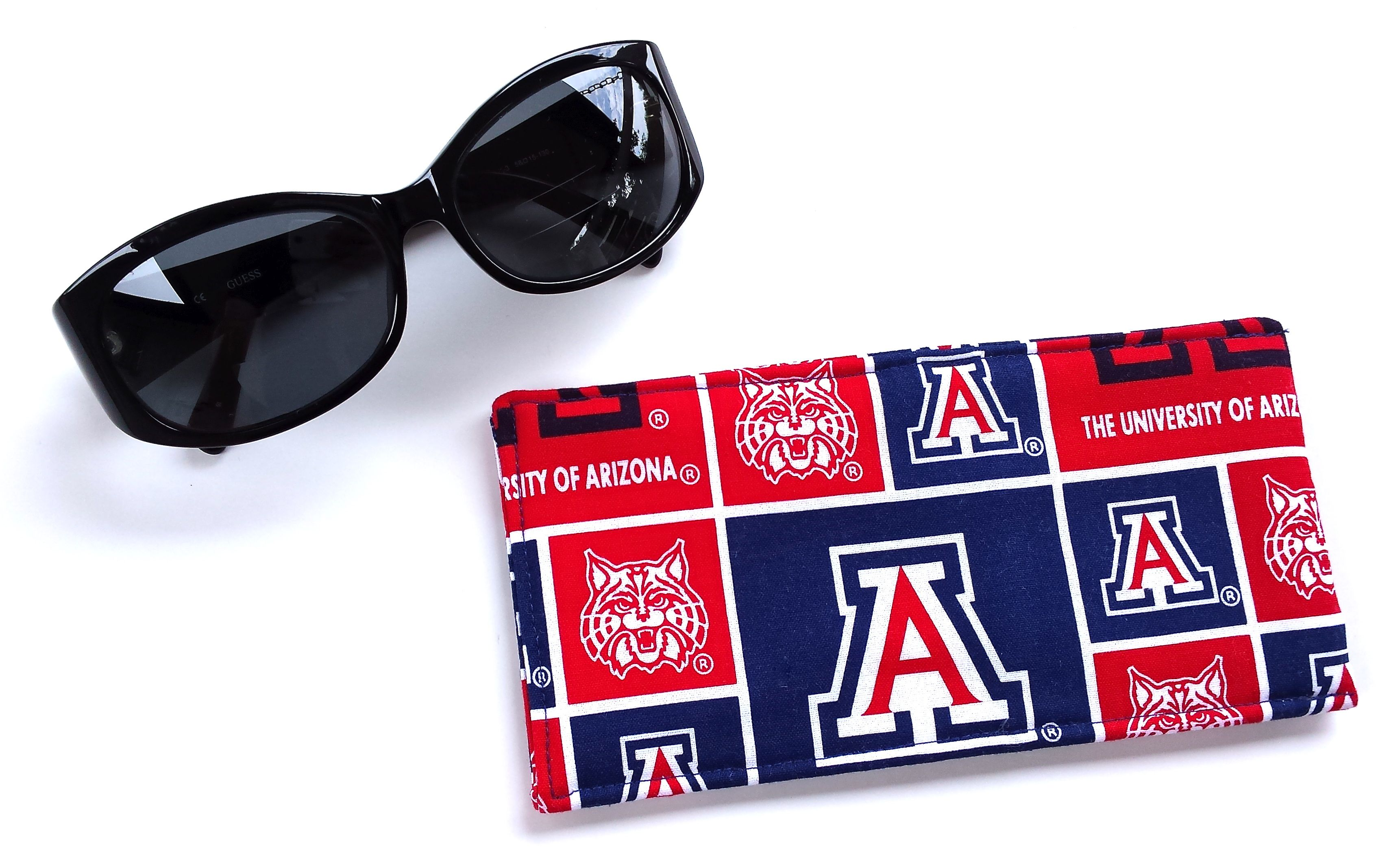 Arizona U of A Eyeglass case