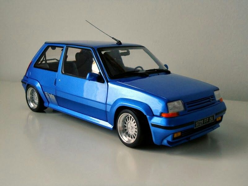 Renault 5gt Turbo Norev 118 60s 70s 80s 90s My Rides