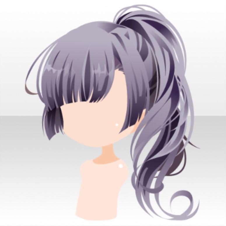 Going to chikurin chibi hair anime hair hair reference