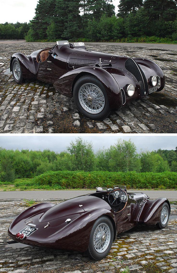 1938 Alfa Romeo 6C 2300B Mille Miglia Spyder vintagecar