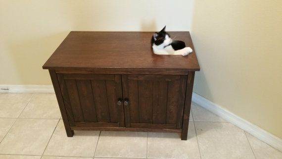 More Elegant Top Entry Litter Box Could Do With A Hinged Like Trunk