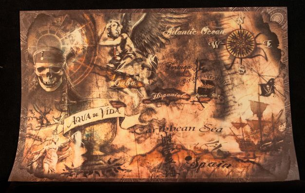Pirates Of The Caribbean Map Pirate of the Caribbean Map | Cosplay Pirate Maps | Pirate