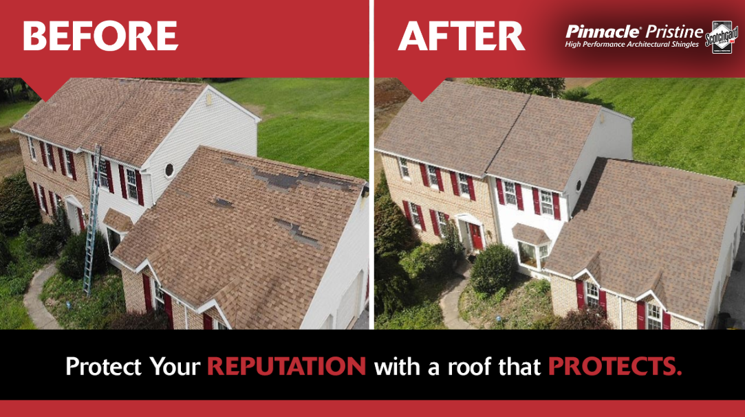 Check Out This Awesome Roof Refresh Those Copper Canyon Shingles Look Great Roofing Options Shingling Roof Shingles