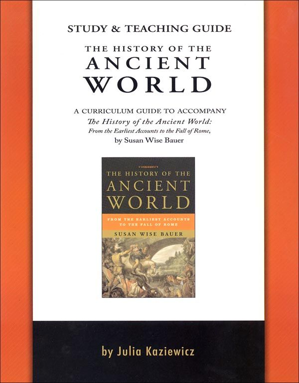 History Of The Ancient World Study Guide Main Photo Cover Teaching Guides Teaching History Subject