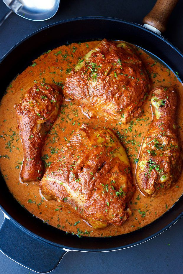 Baked Tandoori Chicken #tandoorichicken