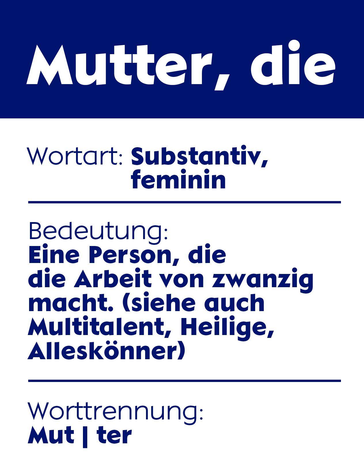 Gedicht muttertag bayerisch