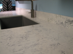 Countertops that look like white marble take two for Okite countertops