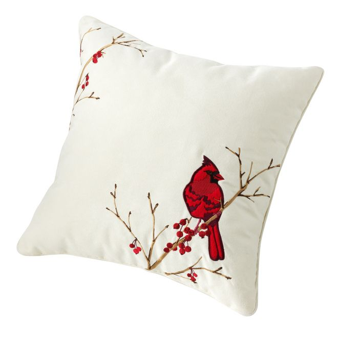 Kohls Decorative Pillows Adorable A Look At Gifts For The Home  Cardinals Pillows And Christmas Decor Design Inspiration