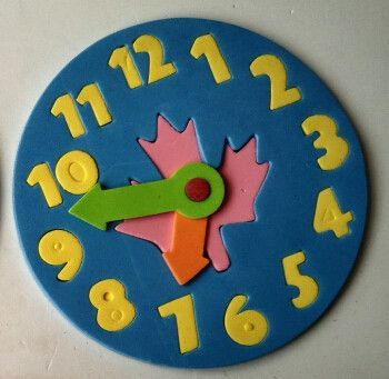 Jigsaw Clock Puzzle Game for Children 3-6 years old ...