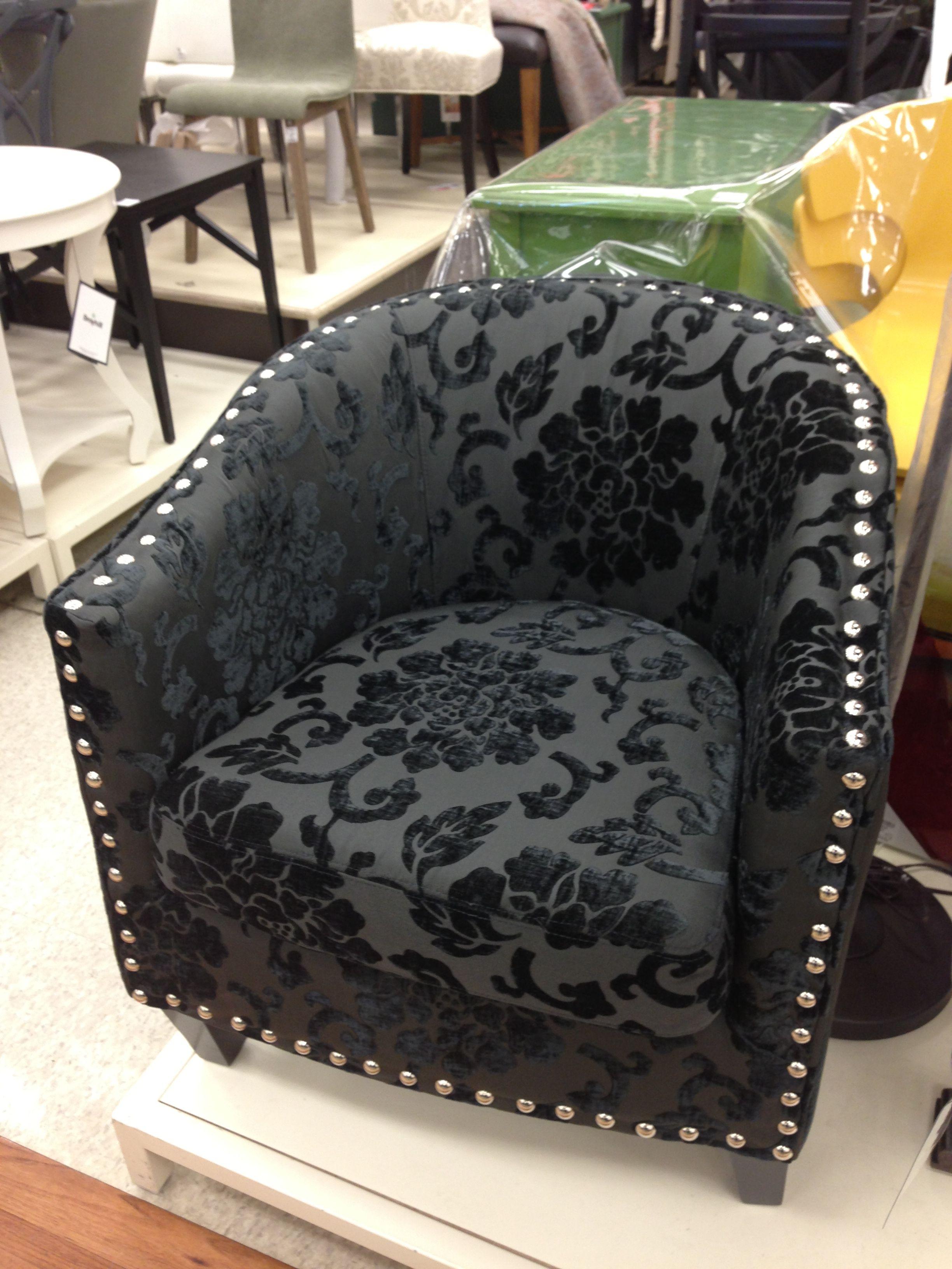 Black Damask Chair HomeSense Canada Home furnishings