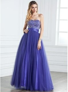 3e6746ccd28 Quinceanera Dresses -  201.99 - A-Line Princess Sweetheart Floor-Length  Satin Tulle