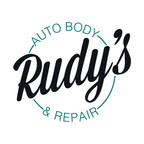 rudy s auto body repair logo design for auto shop i m dorothy rh pinterest com Automotive Company Logos Automotive Company Logos