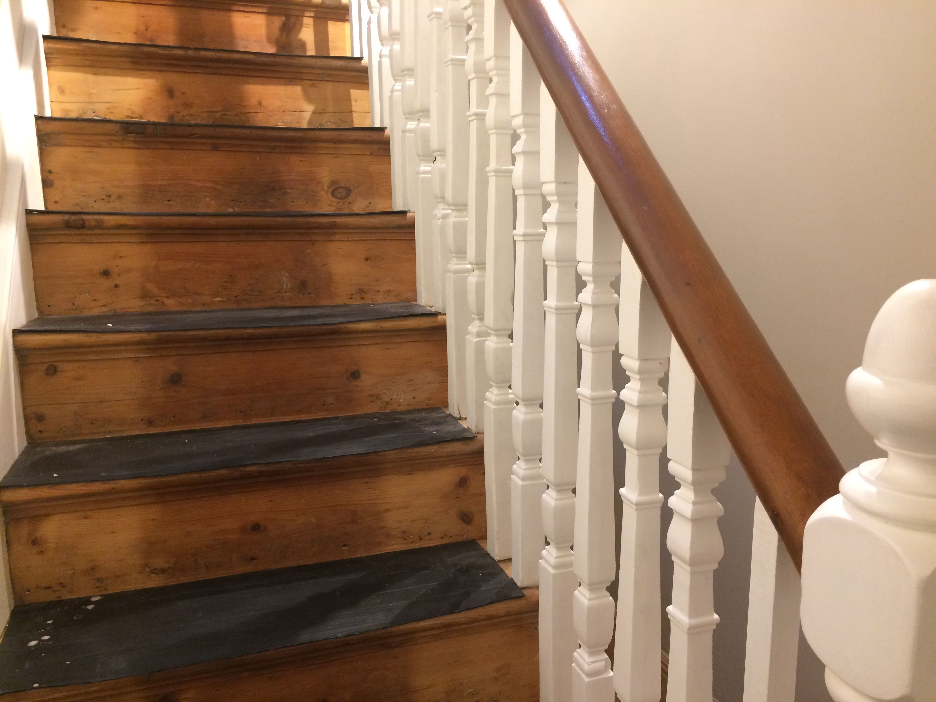 Best Victorian Staircase Stripped Bare Wood Sanded Oiled 640 x 480