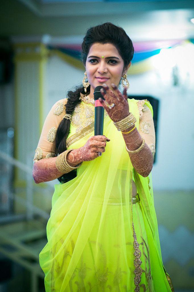 Divyadarshini anchor wedding ring