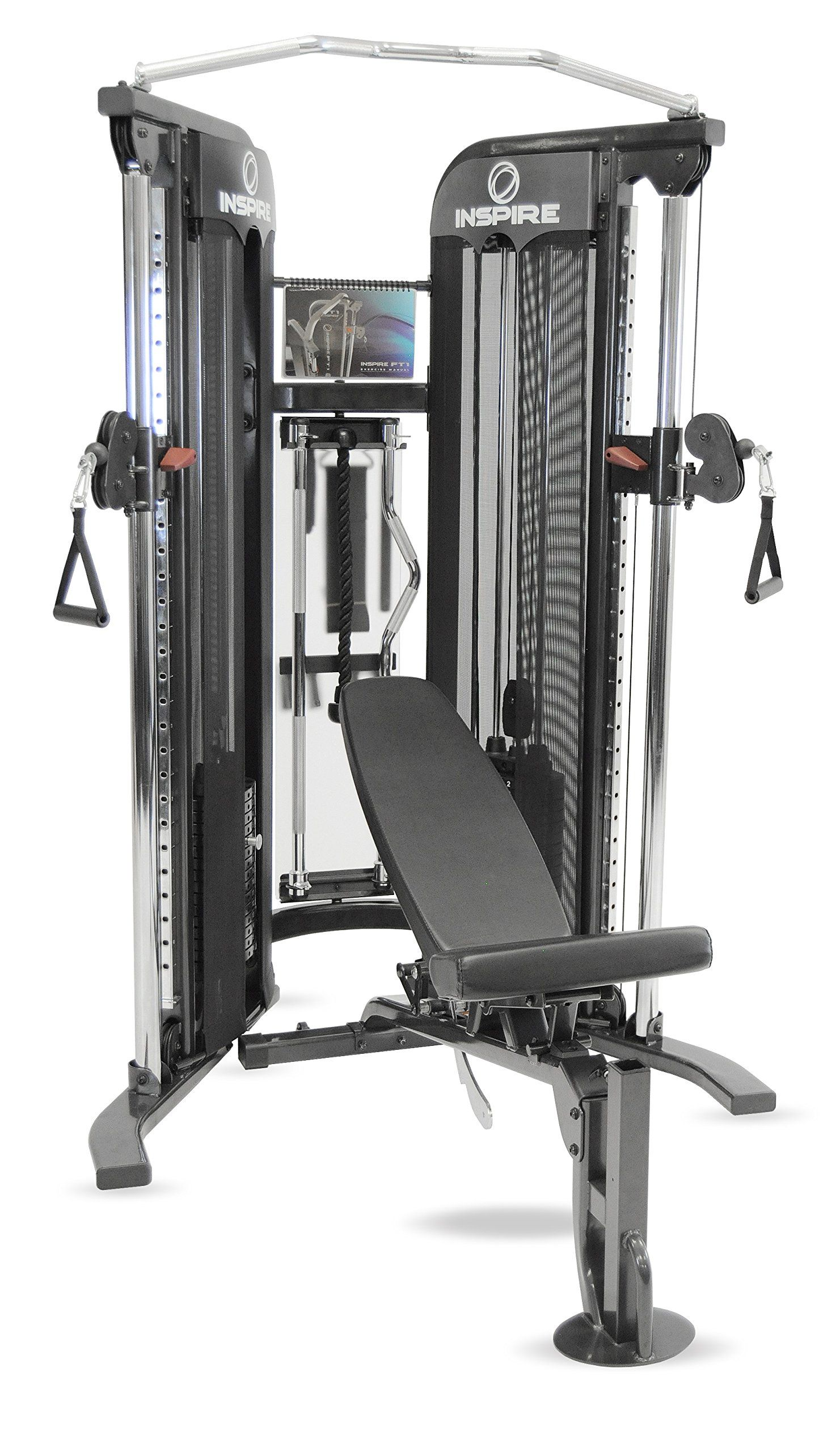 Inspire fitness ft1 functional trainer inspire ft1 gym with bench