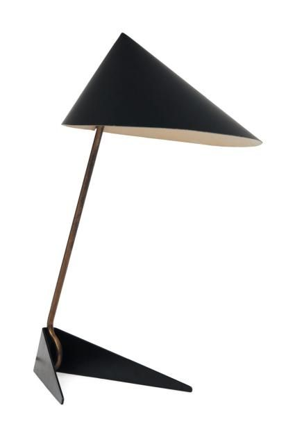 Sven Aage Holm, Table Lamp, 1950s.