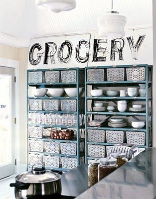 Clean, Light, fun and practical...4 of my favorite words. And I like grocery shopping...which makes my husband think I'm crazy! (well, it's shopping. And shopping that I can afford to do...and I know the end result will be eating yummy things!)