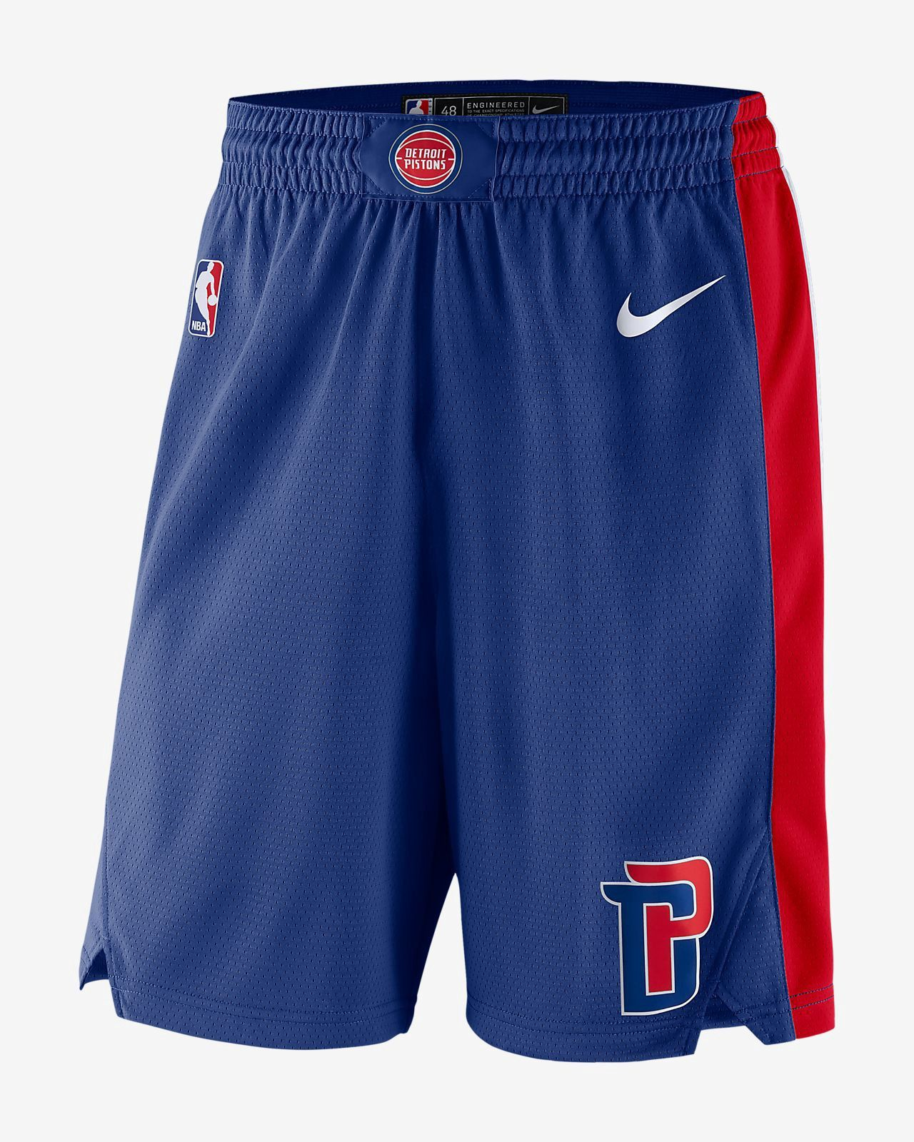 37c9efacf Nike Detroit Pistons Icon Edition Swingman Men s Nba Shorts - 2XL ...