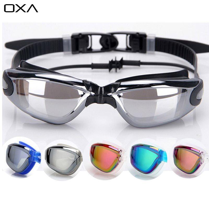 228ccb1c1622 New Professional UV Protection Swim Glasses eyewear Anti Frog Waterproof  Colorful men women Swiming Goggles With