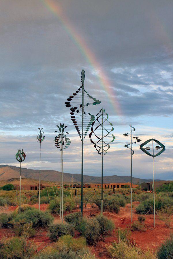 Wind Sculptures Rainbow