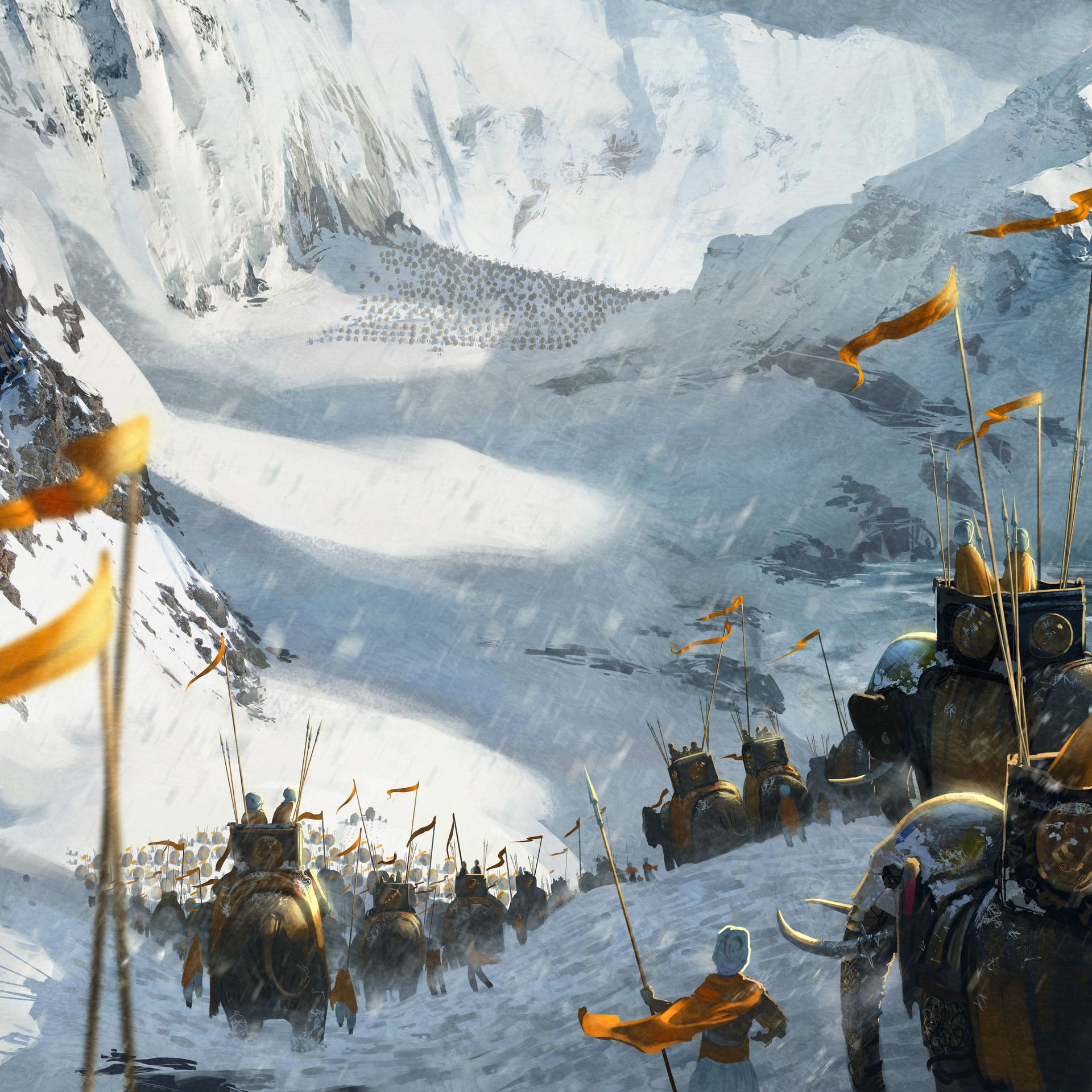 ArtStation - WAR - What is it good for?, Andrew
