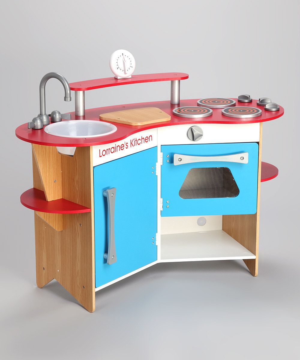 Personalized Wooden Kitchen by Melissa & Doug on #zulily for your ...
