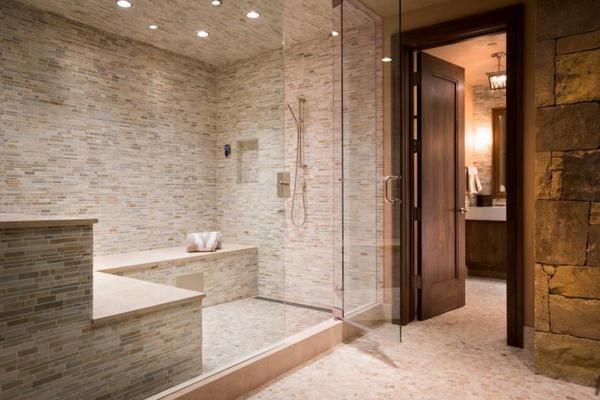 Steam Shower Tile Idea Bathroom Design Trends Bathroom Design Luxury Bathroom