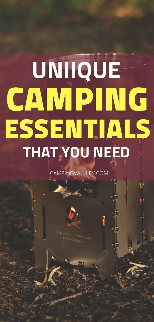 Photo of Necessary Things For Camping