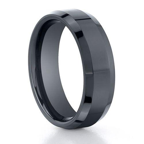 Seranite Black Ceramic Ring Titaniumjewelry Fabulous