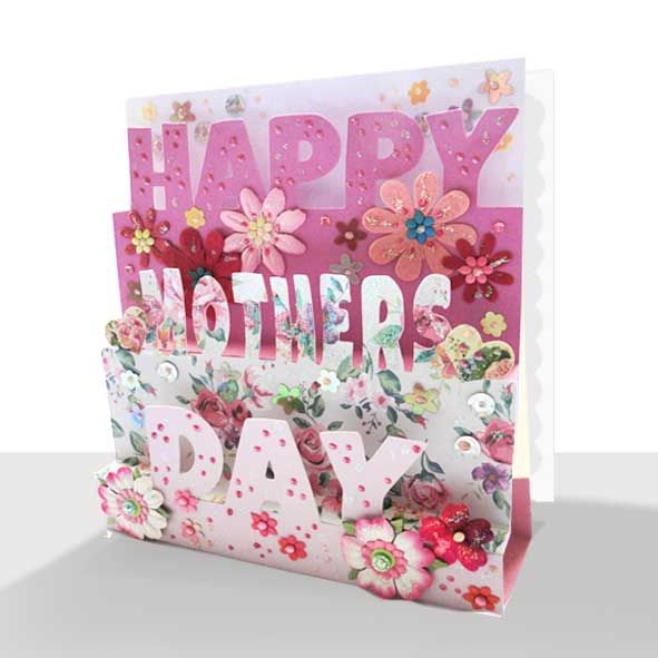 Pop Up Mothers Day Card
