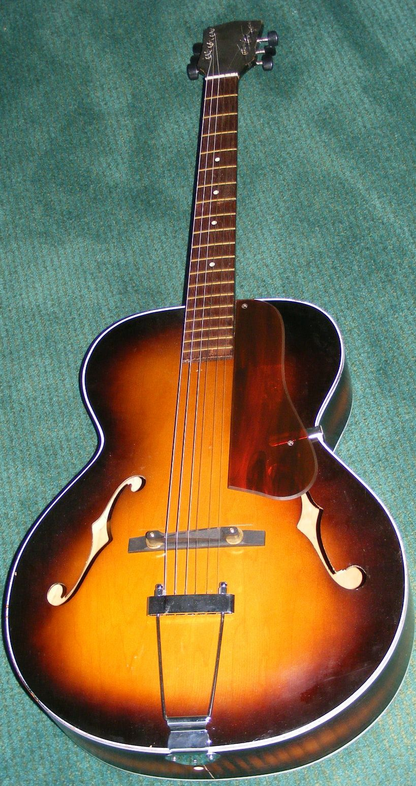 archtop vintage repro guard for gibson l48 or most non cutaway archtop guitars this is slightly. Black Bedroom Furniture Sets. Home Design Ideas