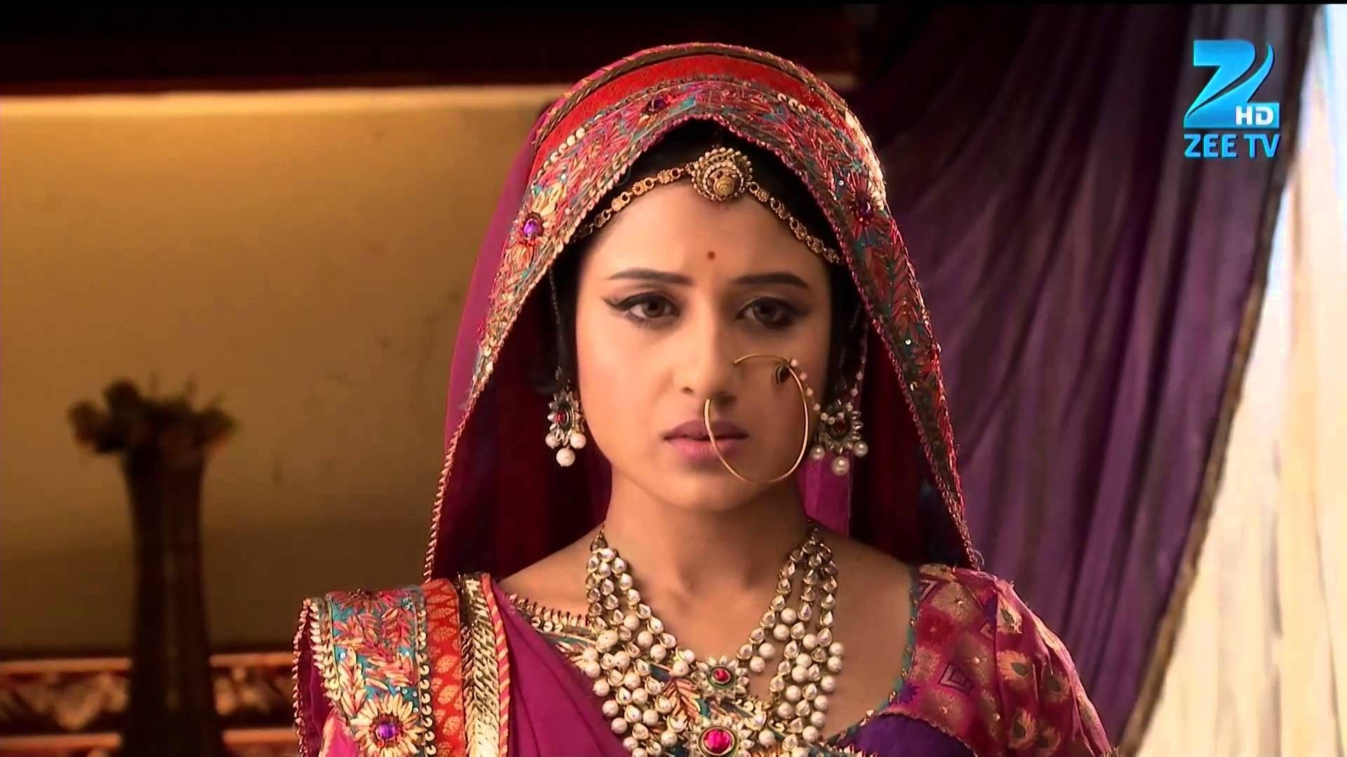 Zee Tv Jodha Akbar Paridhi Sharma Jodha Latest Pics Photos Jodha Akbar Jodhaa Akbar Indian Bride Outfits