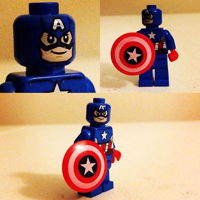 Captain America #Avengers #minifigures #lego #LegoFans #CaptainAmerica #LegoSuperHeroes #Marvel #LegoMarvel