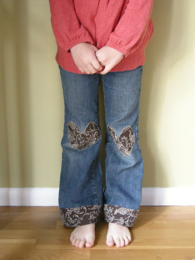 20+ DIY Creative and Fun Knee Patches on Pants Sewing