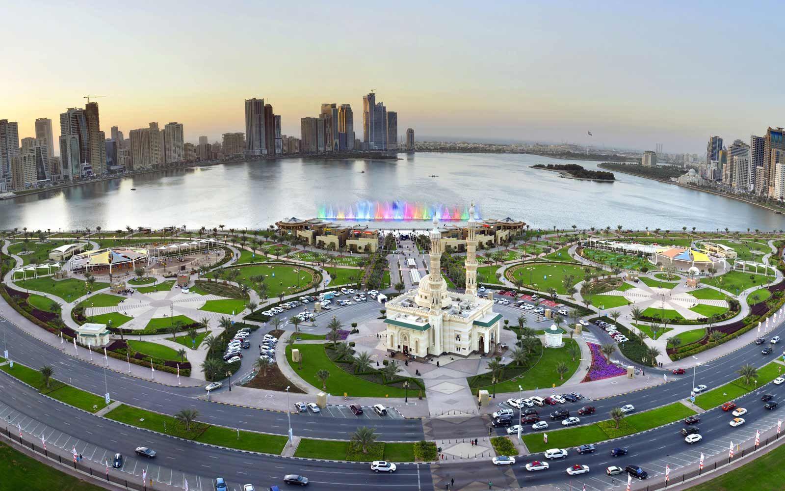 Al Majaz Waterfront, Sharjah. A family friendly leisure area