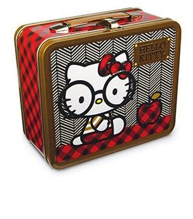 Hello Kitty Nerds With Round Glasses Lunchbox