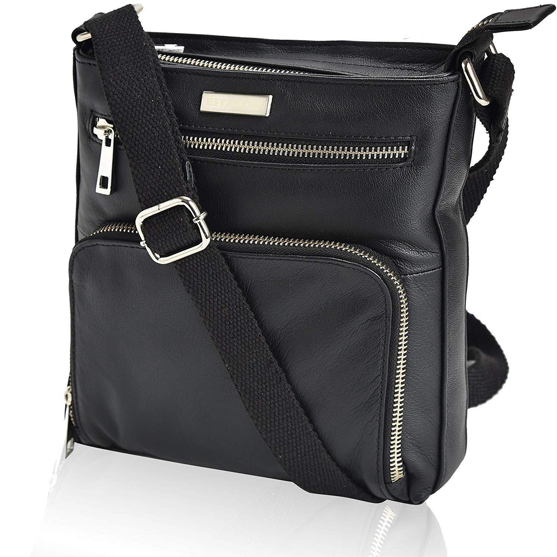 Ladies Womens Real Leather Fashion Shoulder Across Cross Body Bag Mini Purse