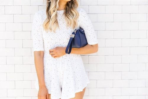 Abril Playsuit worn by Elle Ferguson from TheyAllHateUs | www.graceloveslace.com.au #graceloveslace #summerstyle