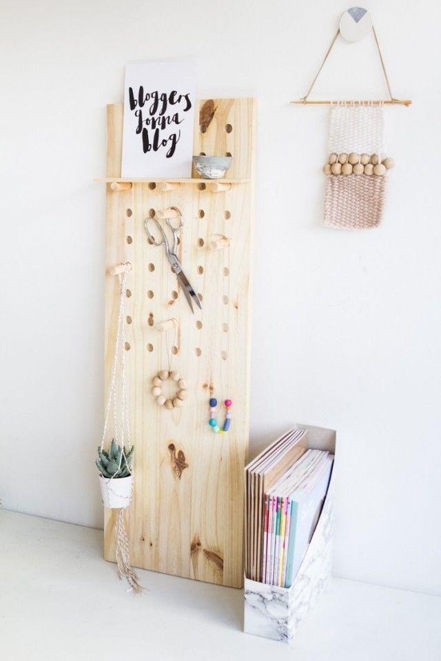 Déco chambre ado fille à faire soi-même – 25 idées cool | Deko ...