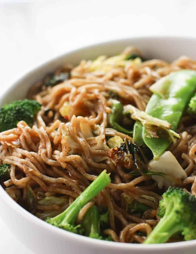 Trader Joes Vegetable And Soba Noodle Stir Fry Kit Asian