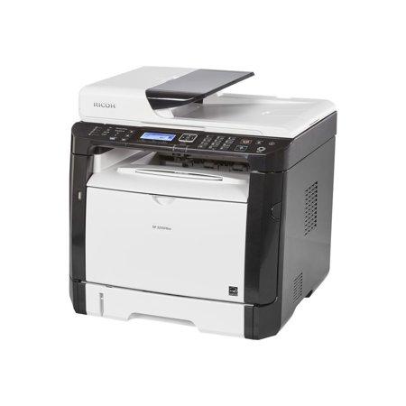 Ricoh 407983 Ricoh Sp 325Sfnw B/W Printer, Multicolor