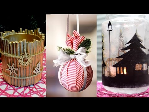 (1887) 15 CHRISTMAS & WINTER DIY Projects [Simple crafts
