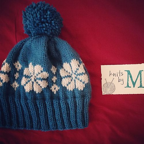Ravelry  Latvian Snowflake Hat pattern by Matthew Lau. First Fair Isle  Project for sure! c5789aa40f2