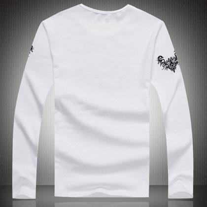 Wholesale T-Shirts - Buy Men Long Sleeve Shirts Men's Clothing Men's Cotton Autumn Clothing Crew Neck for Mens Shirts Men's Fashion BBox, $10.37 | DHgate